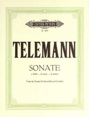 Telemann, G: Sonata in A minor