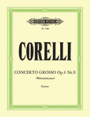 Corelli, A: Concerto Grosso No.8 in G minor (Christmas Concerto)