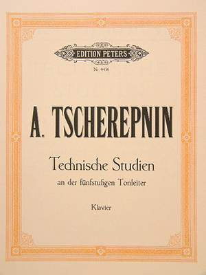 Tcherepnin, A: Technical Studies on the Five Note Scale