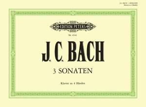 Bach, J.C: 3 Original Sonatas