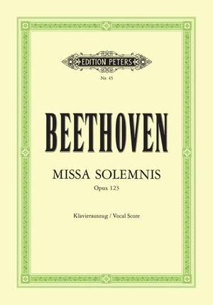 Beethoven: Mass in D 'Missa Solemnis' Op.123 Product Image