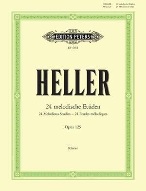 Heller, S: 24 Melodious Studies Op.125
