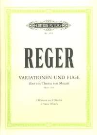 Reger, M: Variations & Fugue on a Theme by Mozart Op.132a
