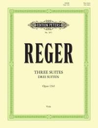 Reger, M: 3 Suites Op.131d