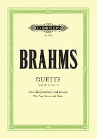 Brahms: 14 Duets Soprano and Alto