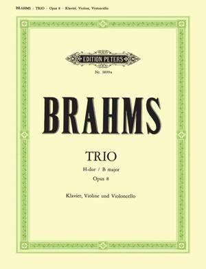 Brahms: Piano Trio No. 1 in B major, Op. 8