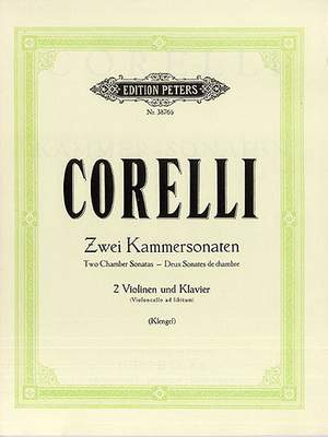 Corelli, A: Sonate da camera Op.2 No.4; Op.4 No.9