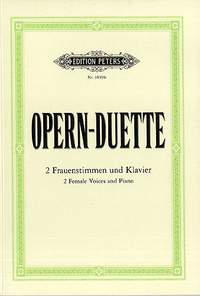 12 Opera Duets for 2 Female Voices