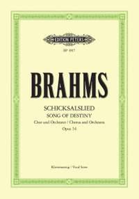 Brahms: Schicksalslied Op.54
