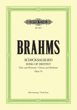 Brahms: Schicksalslied Op.54 Product Image