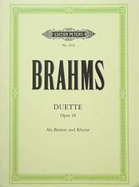 Brahms: 4 Duets Op.28