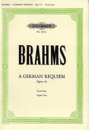 Brahms: A German Requiem Op.45
