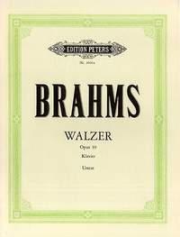 Brahms: 16 Waltzes Op.39