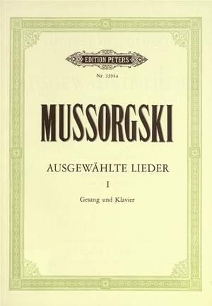 Mussorgsky, M: Selected Songs Vol: 1