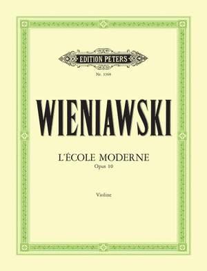 Wieniawski, H: L'Ecole moderne Op.10