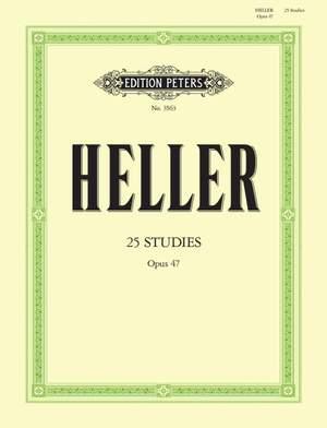 Heller, S: 25 Studies for Rhythm & Expression Op.47