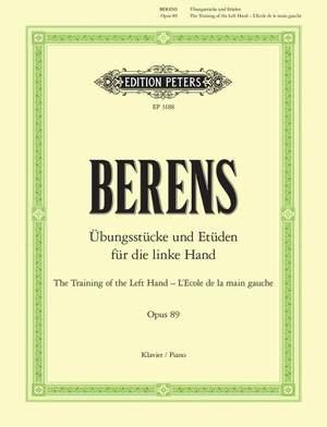 Berens, H: Training the Left Hand Op.89