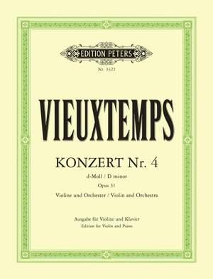 Vieuxtemps, H: Concerto No.4 in D minor Op.31