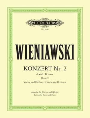 Wieniawski, H: Concerto No.2 in D minor Op.22