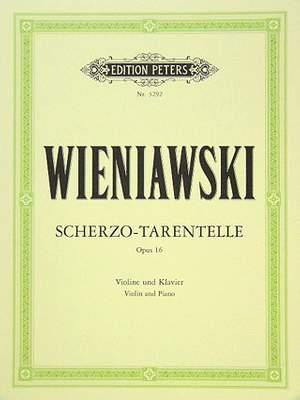Wieniawski, H: Scherzo-Tarantelle Op.16