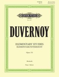 Duvernoy, J: Elementary Studies Op.176