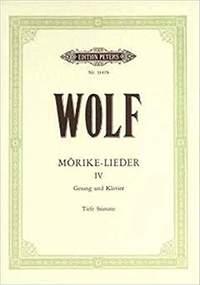 Wolf, H: Mörike-Lieder:  53 Songs Vol.4