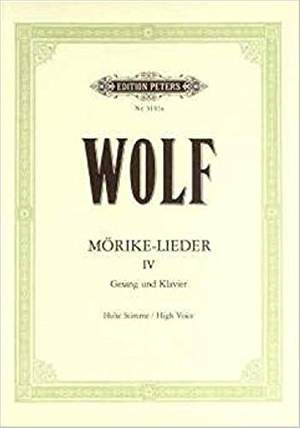Wolf, H: Mörike-Lieder:  53 Songs Vol.4