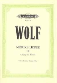 Wolf: Mörike-Lieder Band 3