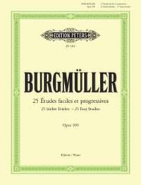 Burgmuller: 25 Easy and Progressive Studies Op. 100