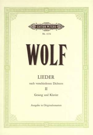Wolf, H: Various Poets (Byron, Heine, Shakespeare etc.) Vol.2