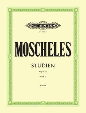 Moscheles, I: Studies Op.70 Vol.2