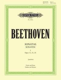 Beethoven: Sonatas for Violin and Piano Volume 1