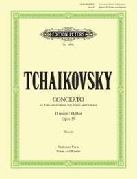 Tchaikovsky: Concerto in D Op.35