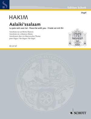 Hakim, N: Aalaiki'ssalaam
