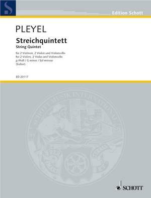 Pleyel, I J: String Quintet G minor BEN 272