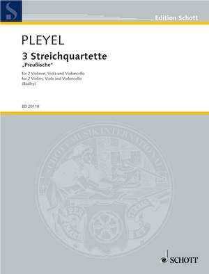 Pleyel, I J: 3 String Quartets Benton 331-333
