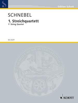 Schnebel, D: 1. String Quartet