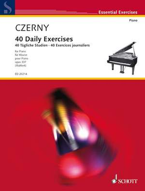 Czerny, C: 40 Daily Exercises op. 337 Product Image