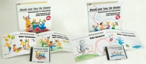 Musik und Tanz für Kinder Kombi-Pack 1. und 2. Unterrichtsjahr