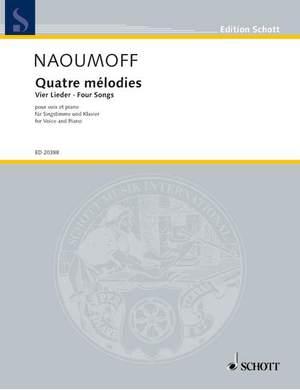 Naoumoff, E: Four Songs