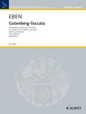 Eben, P: Gutenberg-Toccata