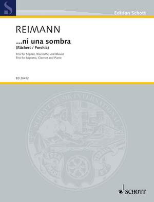 Reimann, A: ...ni una sombra