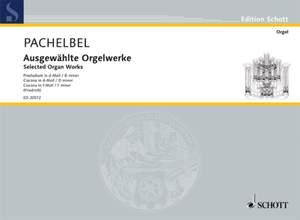 Pachelbel, J: Selected Organ Works Perreault 407, 41,43