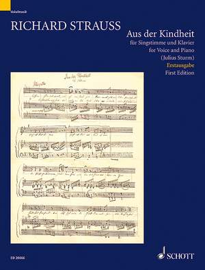 Strauss, R: Aus der Kindheit