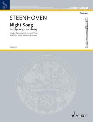Steenhoven, K v: Night Song