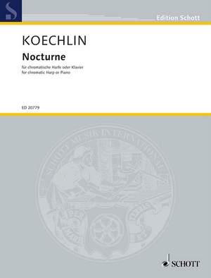 Koechlin, C: Nocturne op. 33