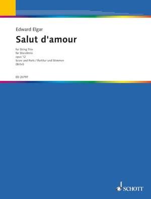 Elgar, E: Salut d'amour D major op. 12