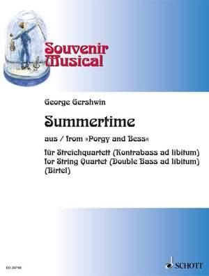 Gershwin, G: Summertime