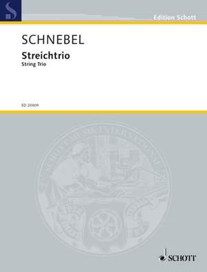 Schnebel, D: String Trio