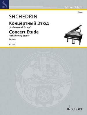 Shchedrin, R: Concert Etude